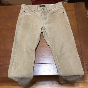Banana Republic 30x30 Corduroy Pants